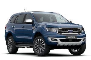 Ford Everest là chiếc xe SUV 7 chỗ bán chạy nhất tháng 11 năm 2020