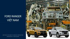 Báo giá Ford Ranger tháng 8 kèm Ưu Đãi.